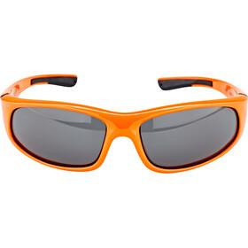 Alpina Flexxy Okulary rowerowe Dzieci, orange-black